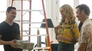 Arturo Castro, Kaitlin Olson and Will Forte in 'Flipped'