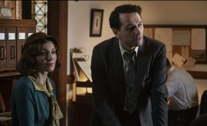 Juliet Ryland and Matthew Rhys in 'Perry Mason'