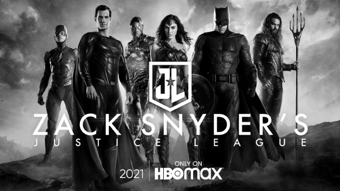 Official image for the Snyder cut of the justice league.