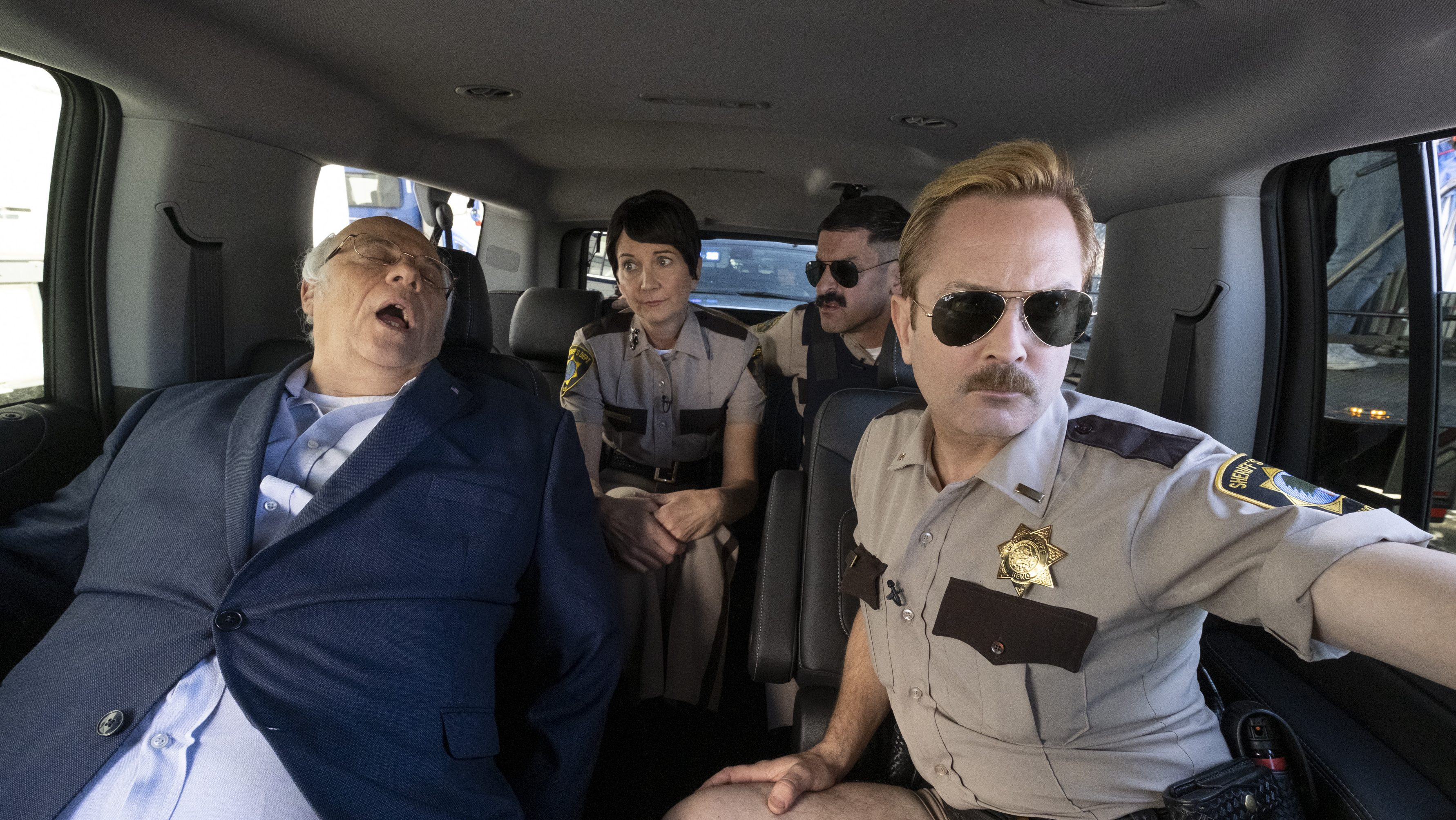 Reno 911 S Thomas Lennon On Plans For More Seasons Of Quibi Revival Deadline