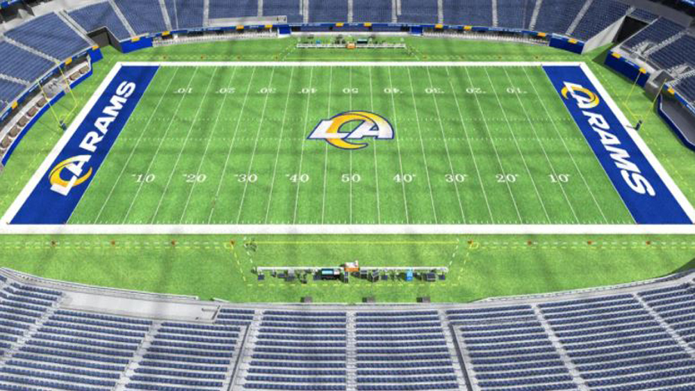 L A Rams Chargers Sofi Stadium Will Begin Season Without Fans In Attendance Deadline