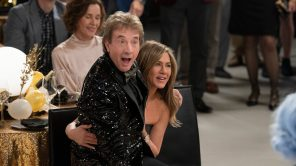 Martin Short and Jennifer Aniston in 'The Morning Show'