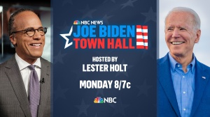 Joe Biden To Do NBC News Town Hall Moderated By Lester Holt