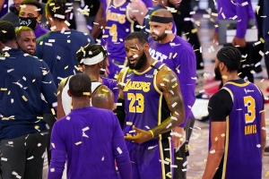 L.A. Lakers Make Their First NBA Finals Appearance in Ten Years, Facing The Miami Heat