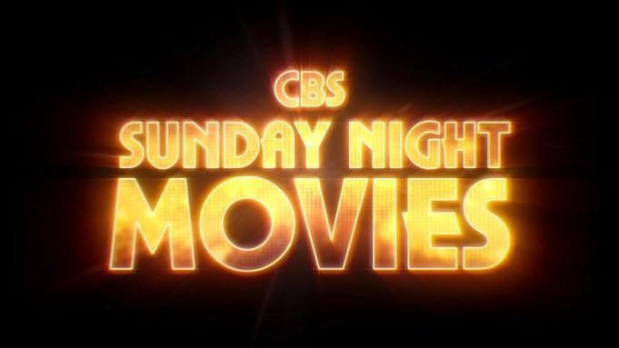 CBS Sunday Night Movies Promo splash, likely to run with Star Trek: Beyond