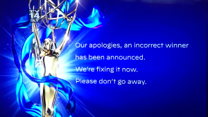 Creative Arts Emmys Suffer Technical Glitch With Confusing Winner Announcement