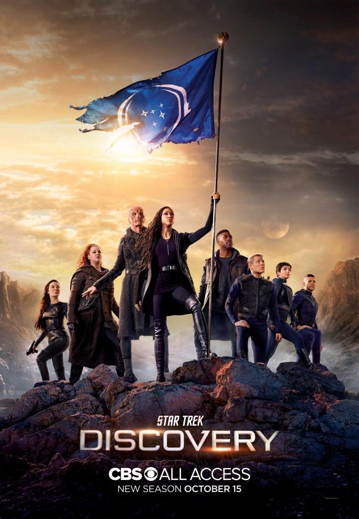 Star Trek discovery poster saison 3