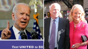 Joe Biden Gets Formal POTUS Endorsement From Cindy McCain; Republican Sen. John McCain Ran Against Ex-VP & Obama In 2008