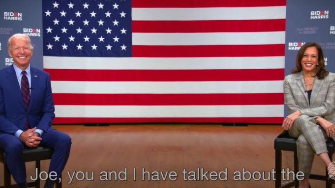 Dwayne Johnson Joe Biden-Kamala Harris Endorsement