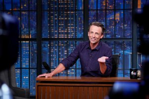 Seth Meyers Taunts $1.3 Billion Lawsuit Against Rudy Giuliani, Roasts GOP's Inability To Change