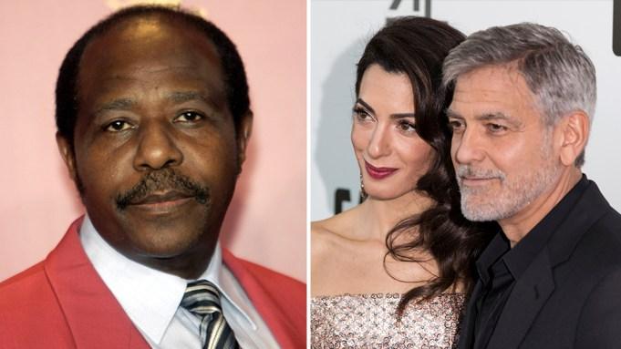 George and Amal to monitor Hotel Rwanda trial Paul-Rusesabagina-Amal-George-Clooney