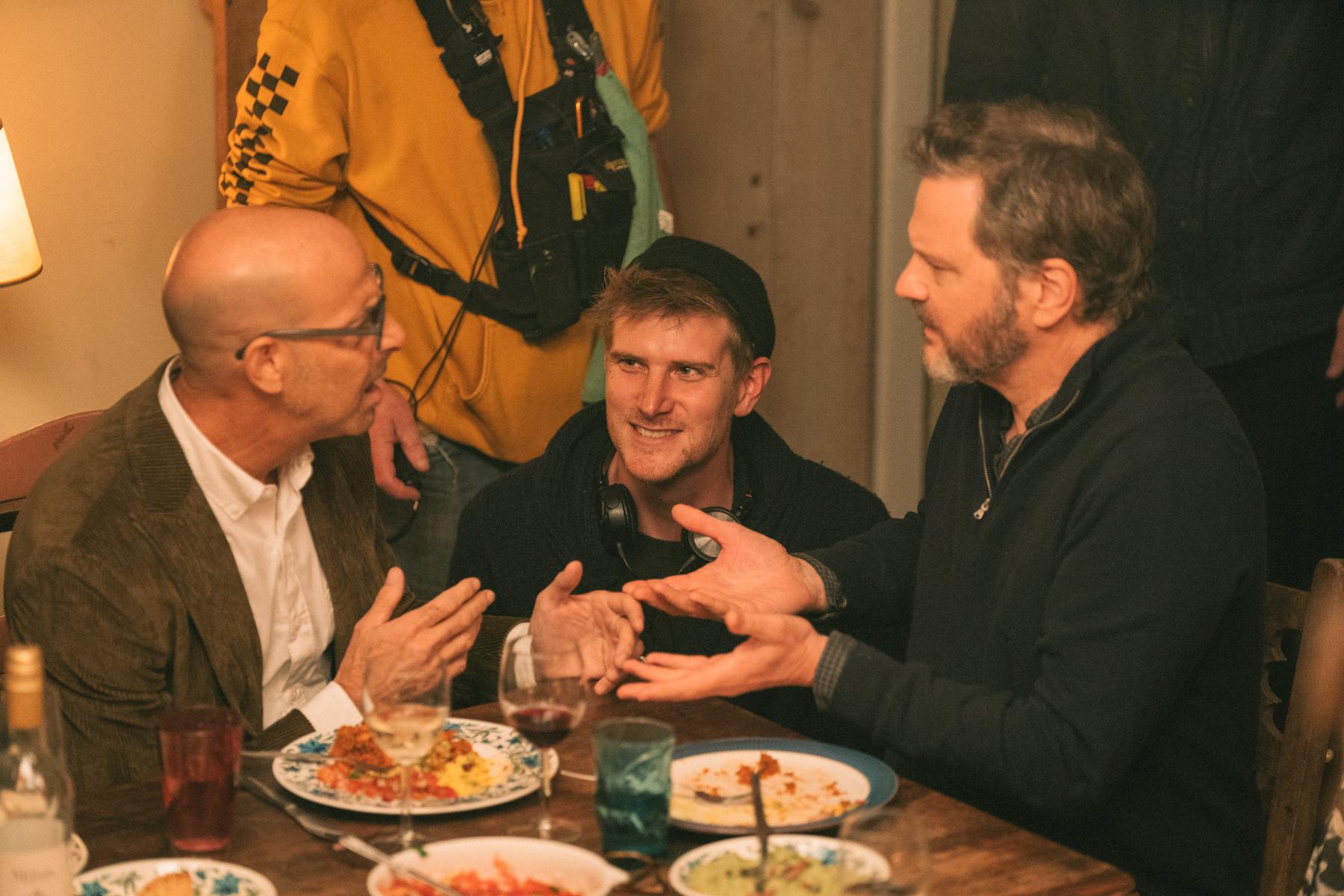Stanley Tucci, Harry Macqueen & Colin Firth - Supernova