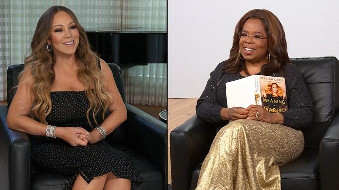 Mariah Carey and Oprah Winfrey