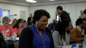 "Stacey Abrams en ""All In: la lucha por la democracia '"