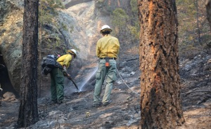 Bobcat Fire Crews Monitoring Containment Lines With Critical Weather Conditions Expected This Week