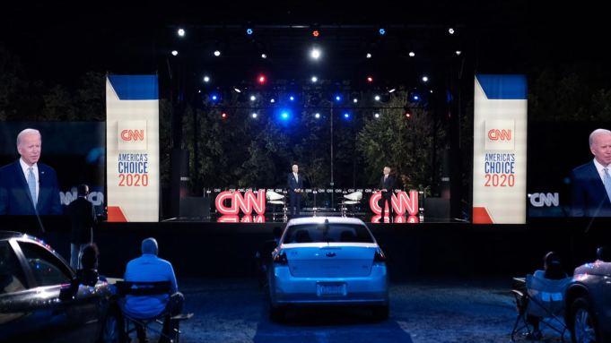 Cnn S Town Hall With Joe Biden Draws 3 3 Million Deadline