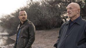 Aaron Paul and Jonathan Banks in 'El Camino'
