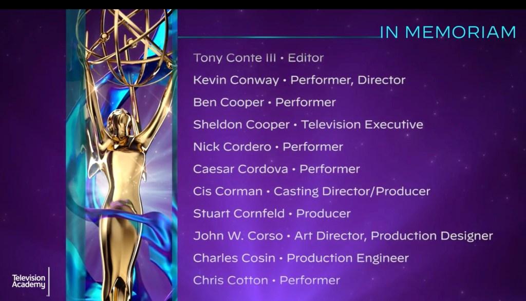 Emmy Video Remembers Nick Cordero, Kobe Bryant & Daytime Stars Left Off Sunday's Broadcast Memorial