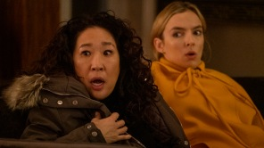 Sandra Oh and Jodie Comer in 'Killing Eve'