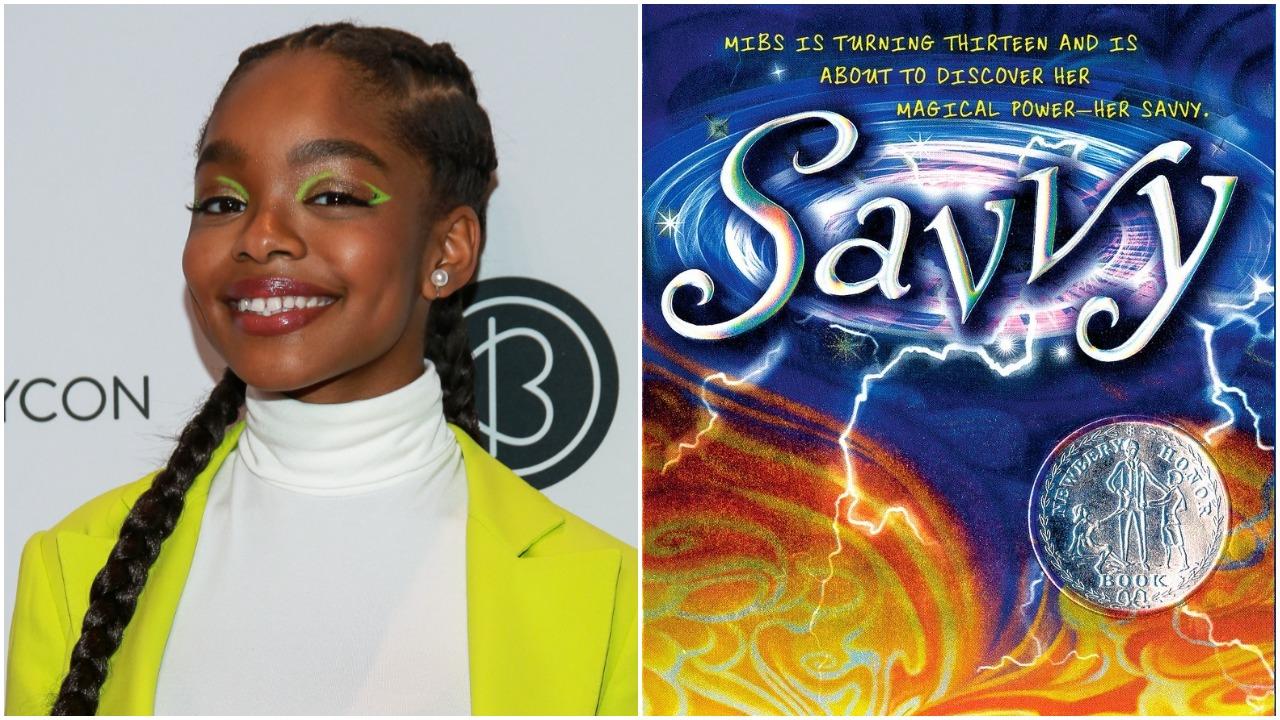 deadline.com - Peter White - 'Black-ish' Star Marsai Martin & Walden Media Adapting Ingrid Law's Kids' Fantasy Novel 'Savvy' For Television