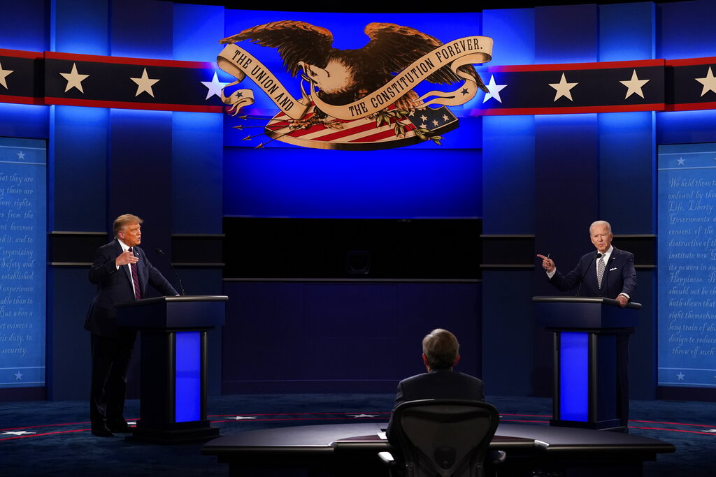 Presidential Debate #1 Review: Donald Trump Rants, Joe Biden Plays POTUS & Chris Wallace Loses Control.jpg