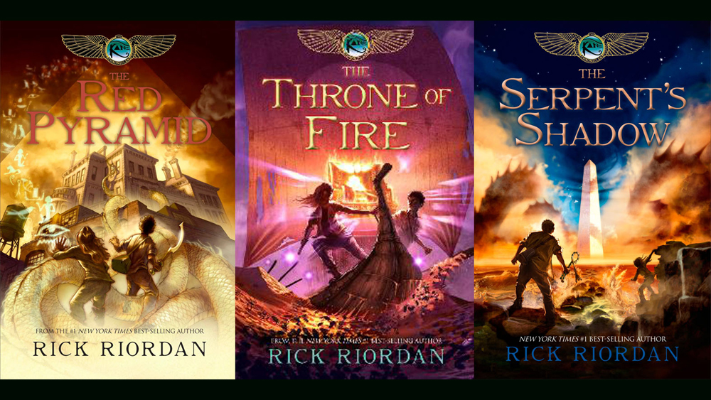 Rick Riordan Developing Feature Adaptations Of 'The Kane Chronicles' At  Netflix – Deadline
