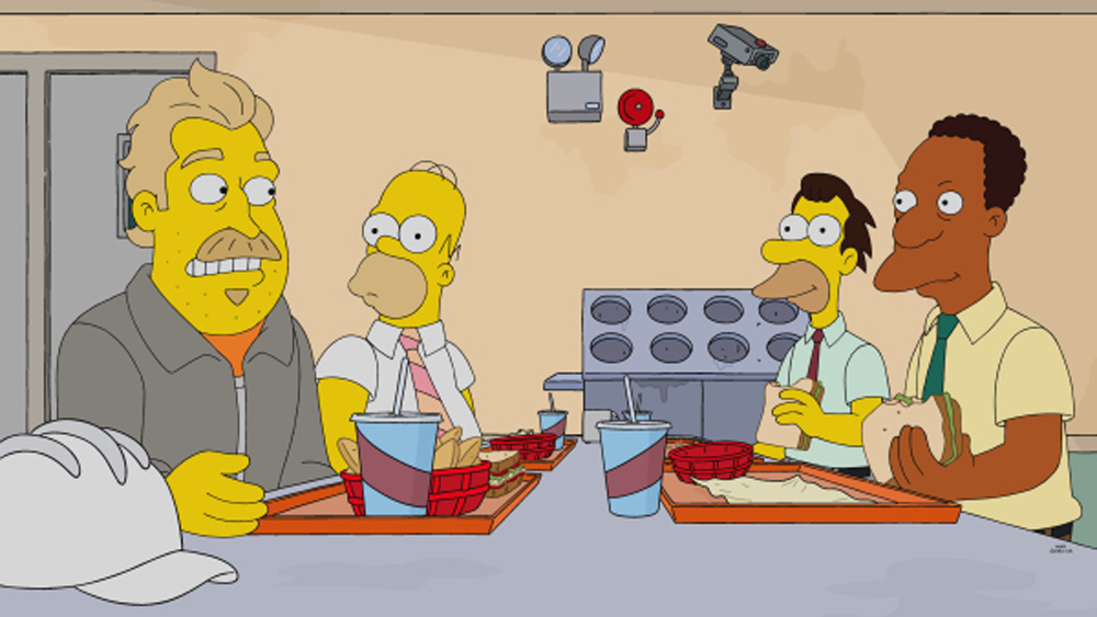 The Simpsons The New Voice Of Hank Azaria S Carl Is Revealed Deadline