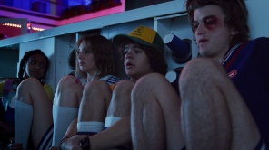Maya Hawke and Joe Keery in 'Stranger Things'