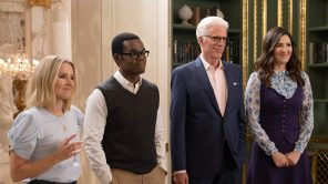 'The Good Place' features Kristen Bell, William Jackson Harper, Ted Danson and D'Arcy Warden