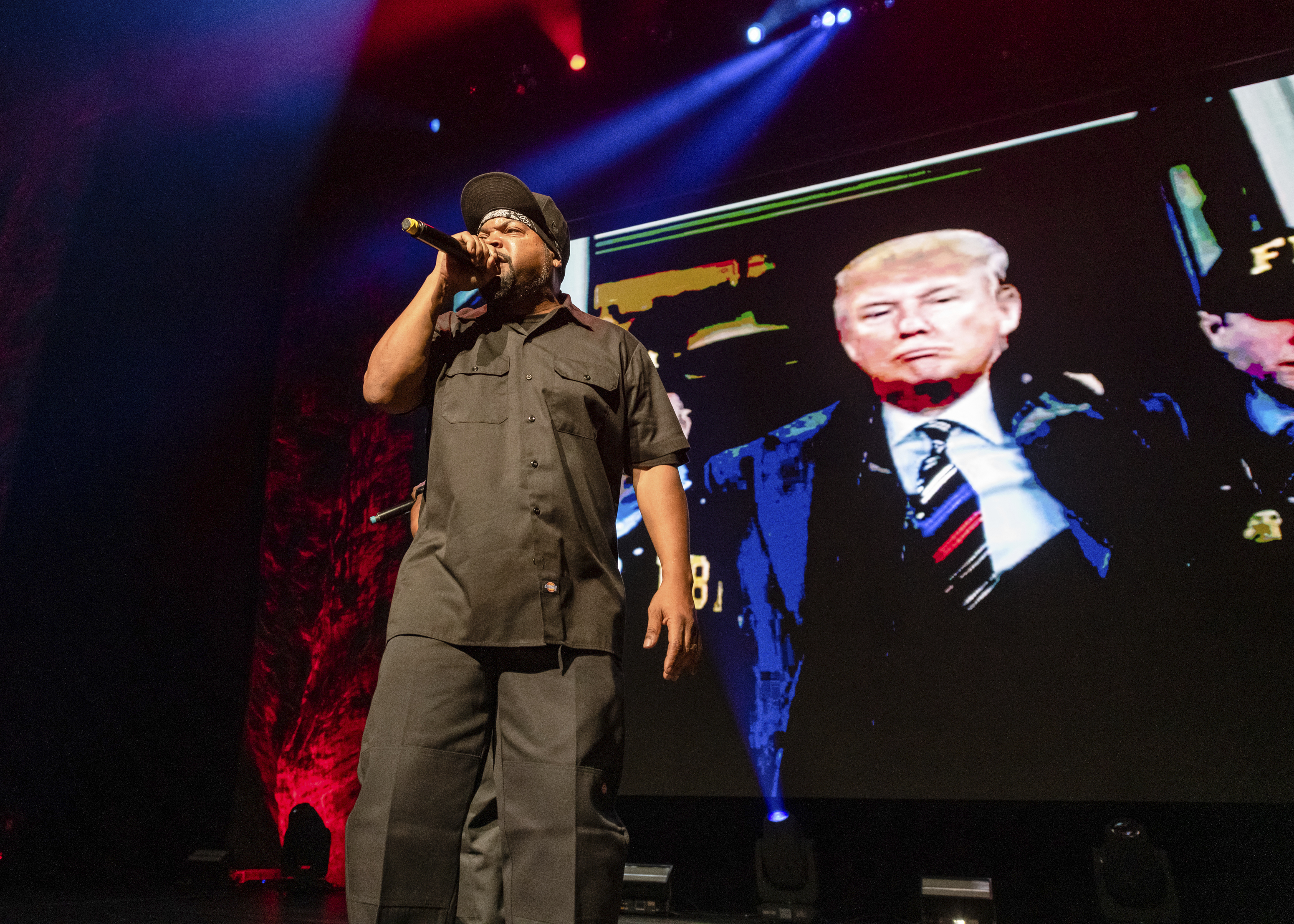 Ice Cube Explains Work With Trump's Team On Plan For Black America –  Deadline