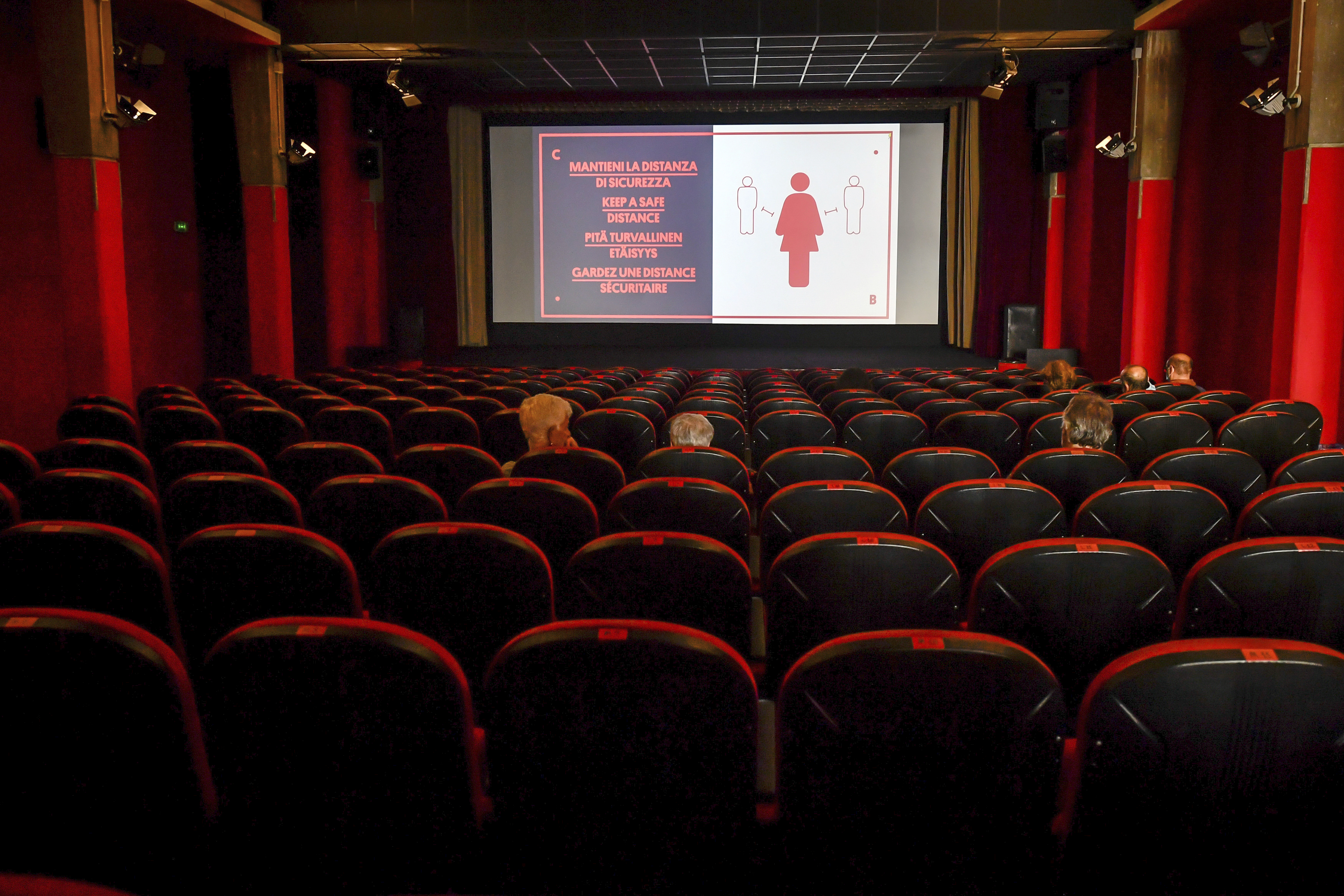 Italy Re-Closing Cinemas Amid Coronavirus Surge; Spain Approves New State Of Alarm, Sets Curfews