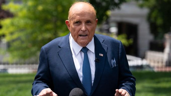 Watch: Borat Defends Rudy Giulianis Honor Following