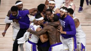 L.A. Lakers Defeat Miami Heat To Win 17th Championship In NBA's Most Challenging Year