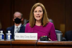 Amy Coney Barrett Supreme Court Nomination Clears Last Procedural Hurdle, Final Vote Expected Monday