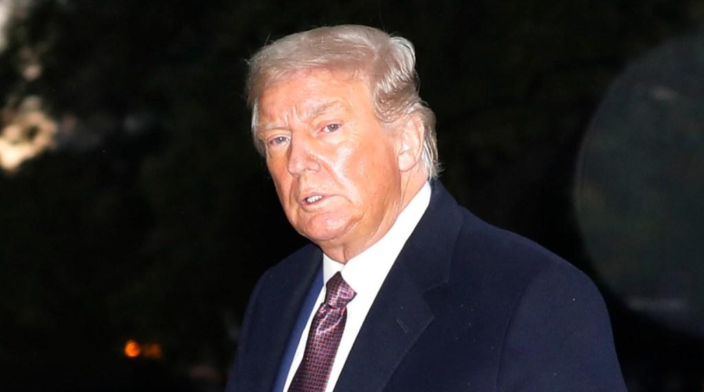 Donald Trump OCtober 2020