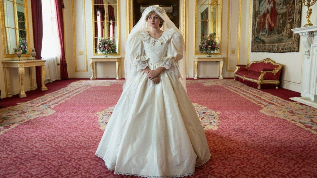 Netflix Crown Diana Wedding Dress Season 4