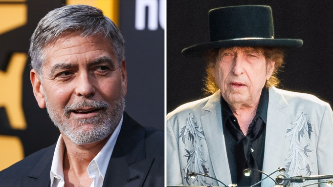 George to direct John Grisham adaptation 'Calico Joe' George-Clooney-Bob-Dylan-1