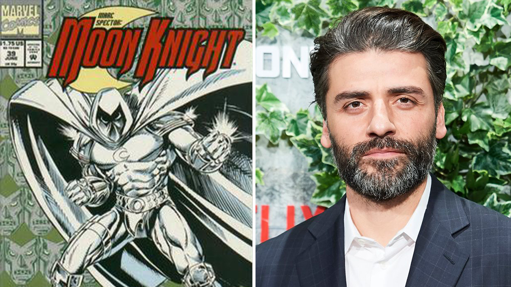 Marvel Taps Oscar Isaac To Star in 'Moon Knight' Series' – Deadline