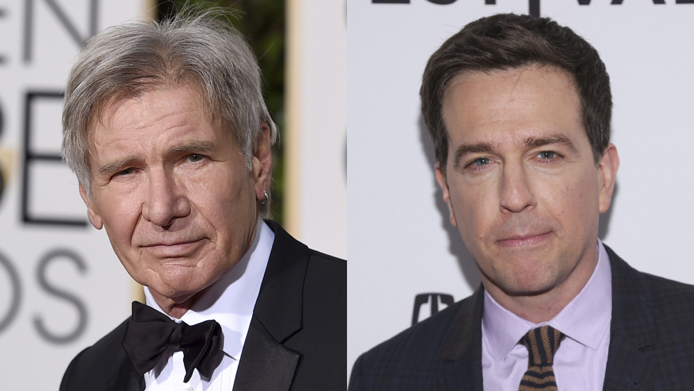 Harrison Ford & Ed Helms To Star In ErosSTX Seafaring Comedy 'Adventures Of Burt Squire'