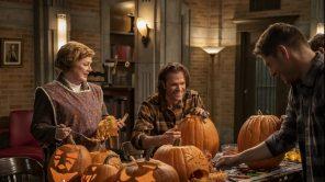 Meagan Fay, Jared Padalecki and Jensen Ackles in 'Supernatural'
