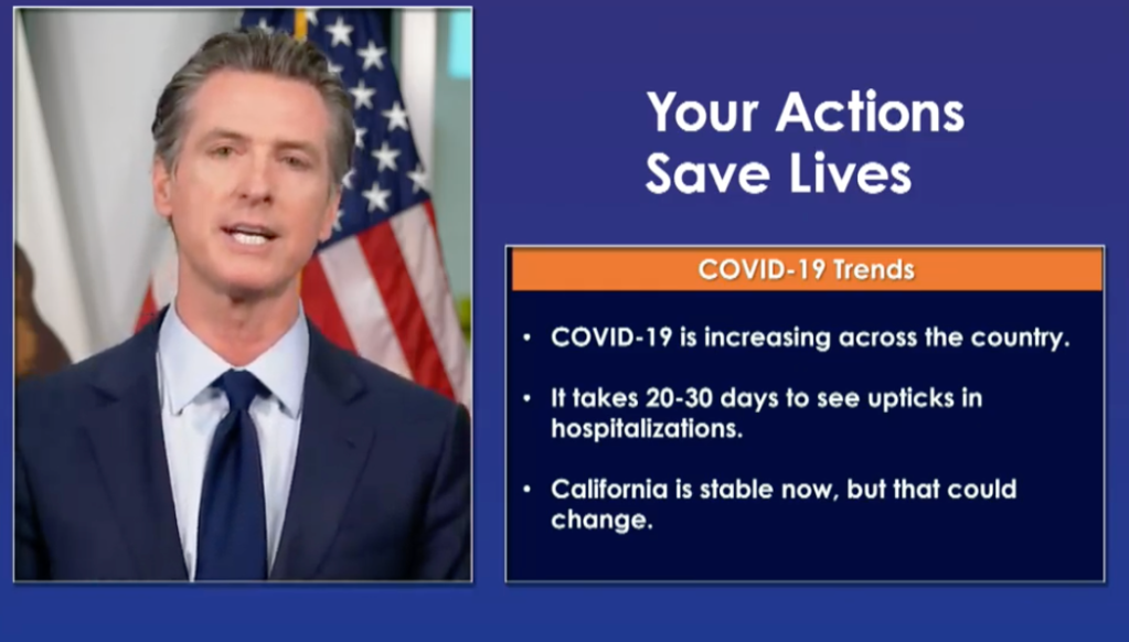 "California Coronavirus Update: Governor Gavin Newsom Says, ""This Is The Second Wave"" As Cases Rise Across The U.S."