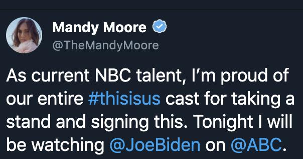 Mandy Moore Twitter