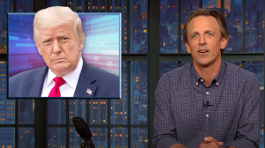 "Seth Meyers Knocks Trump's ""Pathetic Amount Of Pandering"" To Key Voters"