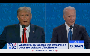 Hollywood Reactions To The Donald Trump-Joe Biden Debate Stay In Their Lanes