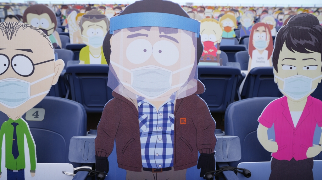 'South Park' Cutouts To Be Featured At NFL's Denver-Kansas City Game This Sunday