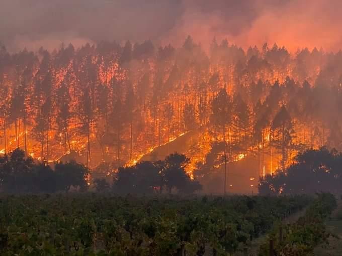 California's August Complex Fire Has Now Scorched Over 1 Million Acres –  Deadline