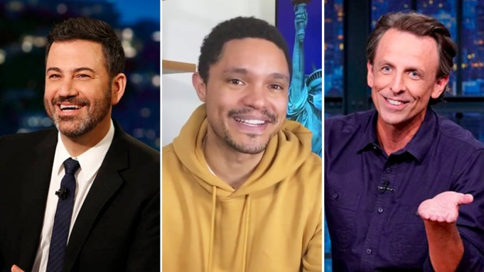 Late Night Hosts Prepare For Election Day Fear Post Election Unrest Deadline