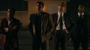 Leslie Odom Jr., Eli Goree, Kingsley Ben-Adir and Aldis Hodge in 'One Night in Miami'