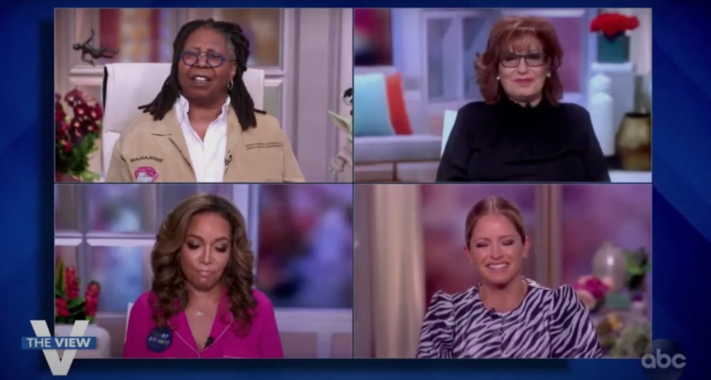 'The View's Sara Haines Goes Giggly Over Jeffrey Toobin As Cohosts Don't See The Humor