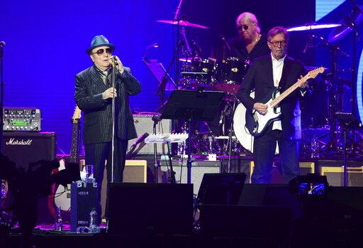 Van Morrison Eric Clapton Team For New Song To Help Musicians Deadline